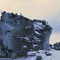 Jura krakowsko-częstochowska #góry #krajobraz #lezajsktm #Mirów #widok #zima #jura #krakowsko #częstochowska