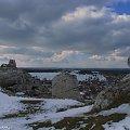 #Olsztyn #góry #skały #niebo #krajobraz #zima #jura #krakowsko #częstochowska