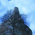 Zamek Bobolice - Jura krakowsko-częstochowska #Bobolice #częstochowska #historia #jura #krajobraz #zima #krakowsko #lezajsktm #niebo #Polska #ruiny #widok #zabytki #zamek #zamki