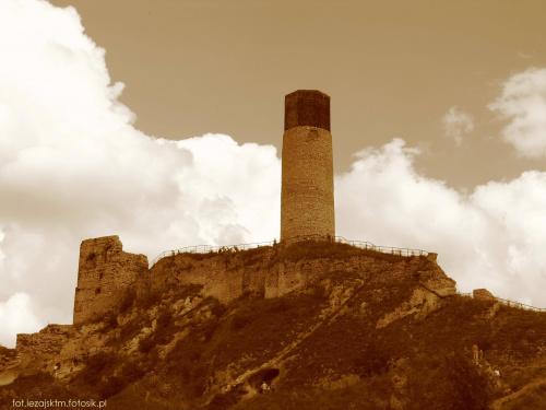 Zamek Olsztyn #częstochowska #góry #historia #jura #krajobraz #sepia #krakowsko #lezajsktm #niebo #olsztyn #Polska #ruiny #widok #zabytki #zamek #zamki