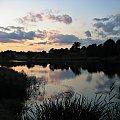 #niebo #wieczór #zalew #zmierzch