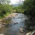 z wyprawy na Połoninę Caryńską; jeszcze na dole #Bieszczady #potok #góry