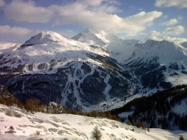 Vialattea (It.) #góry #Vialettea #Siestriere