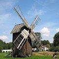 wiatrak ... gdzieś w Polsce ... #wiatrak #skansen #lato