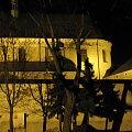 Leżajsk - Klasztor o. Bernardynów #bernardyni #bernardynów #historia #klasztor #lezajsk #lezajsktm #leżajsk #noc #zabytki