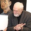 Strumiłło Andrzej na wernisażu wystawy Wiesława Szumińskiego - Obłąkani #Wernisaż #wystawa #SzumińskiWiesław #Obłąkani #CentrumSztukiWspółczesnej #Suwałki #malarstwo #StrumiłłoAndrzej