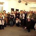 Wernisażu wystawy Wiesława Szumińskiego - Obłąkani #Wernisaż #wystawa #SzumińskiWiesław #Obłąkani #CentrumSztukiWspółczesnej #Suwałki #malarstwo