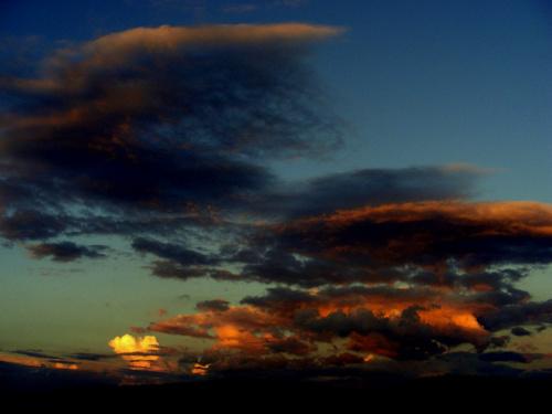 troche mocnych wrażeń na dobranoc..:) #niebo