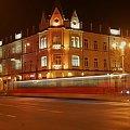 tramwaj duch;) #Częstochowa #noc #tramwaj