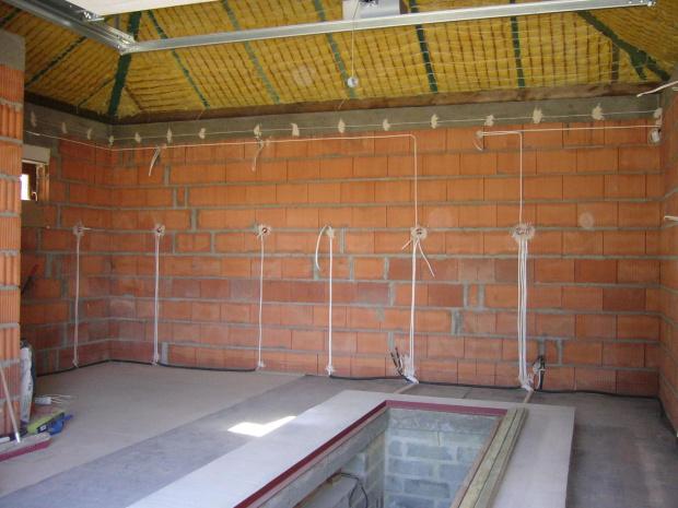 Instalacja Elektryczna W Garażu Wolnostojącym Malachitowa