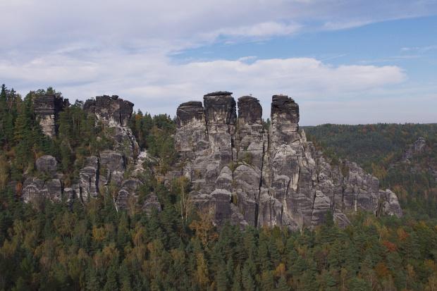 Bastei- rezerwat skalny #Bastei #RezerwatSkalny #skały #Niemcy