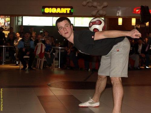 Prezentacja piłkarskiego zespołu Wigry Suwałki - Centrum Handlowe PLAZA, 10 marca 2011 #WigrySuwałki #PiłkaNożna