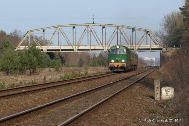 15.03.2011 Ostbahn. Regio Piła Głowna - Krzyż z SU45-174. To ostatnie podrygi tej serii na Ostbahnie. #kolej #Piła #zima