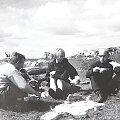 Biwak w Niegowej, od lewej Tadek, Ela, Zbyszek. #biwak #ludzie #turystyka