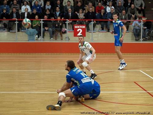 Ślepsk Suwałki - Joker Piła. pierwszy mecz play-off, Hala OSiR - 22 marca 2011 #ŚlepskSuwałki #JokerPiła #HalaOSiR #siatkówka