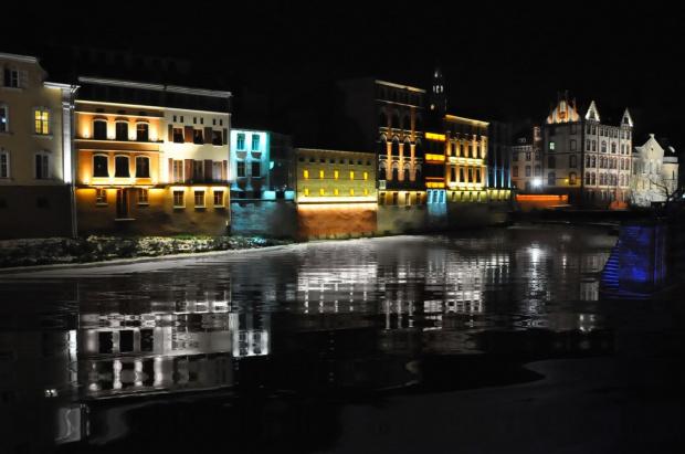 Opolska Wenecja (dla zainteresowanych - zdjęcie wykonane z ręki)