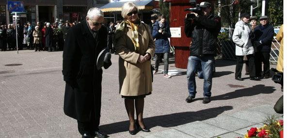 RadnaWiesławaZewald i radny Grzegorz Matuszak