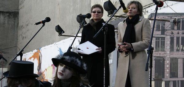 Wiceprezydent AgnieszkaNowak otwieraoficjalne obchody