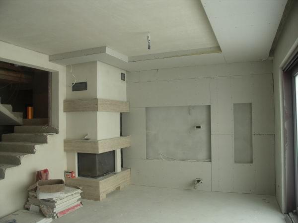M j domek em20 na podhalu dzienniki budowy forum murator for Sufit podwieszany w salonie