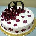 tort na okragłą rocznicę 60 -tą #rocznica #tort