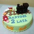 Ciuchcia dla Bartoszka #Tort #ciuchcia #kolejka