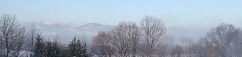 dzisiejszy poranek z mojego balkonu #beskidy #skrzyczne #poranek