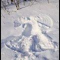 Zima w WPKIW Chorzów #zima #park #wpkiw #anioł