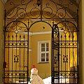 pan na włościach :) #Lubsko #brama #bałwan #zima