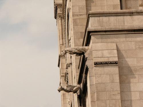 Gargulce na Sacre - Coeur #Paryż