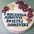 Torcik na rocznicę komuni świętej #rocznica #aniołek #TortyRoczniciwe