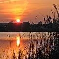 z rodzinnych stron #ZachódSłońca #jezioro #Lubięcin