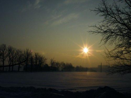 #słońce #wschód