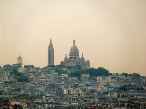 Widok z Łuku Triumfalnego - Montmartre #Paryż