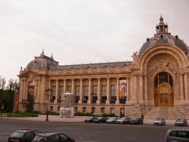 Grand Palais - zbudowany na wystawę światową w 1900 r #Paryż