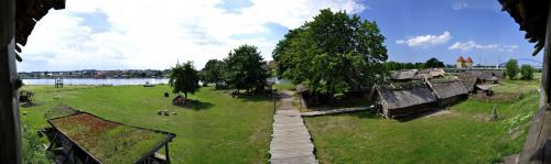 Wioska Słowian i Wikingów Wolin #wakacje #wolin #wioska #panorama