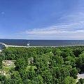 Widok z latarni na Świnoujście. #świnoujście #wakacje #bałtyk #latarnia #port #panorama