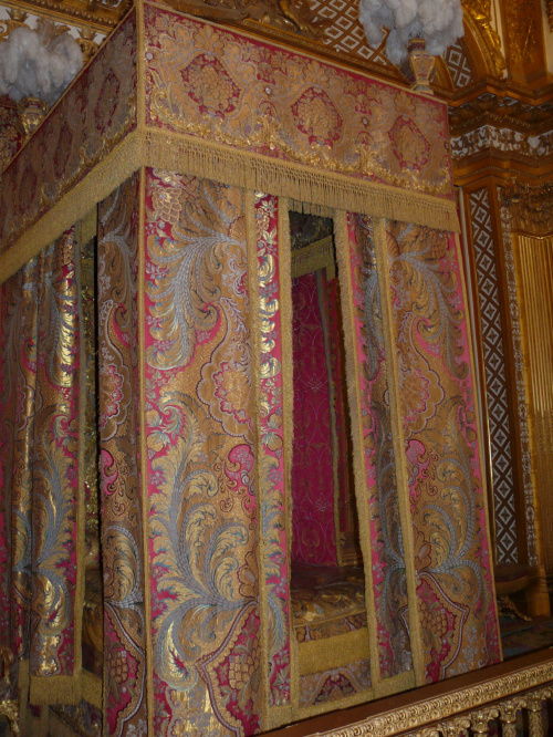 Pałac Wersalski - The King's Chamber #Paryż
