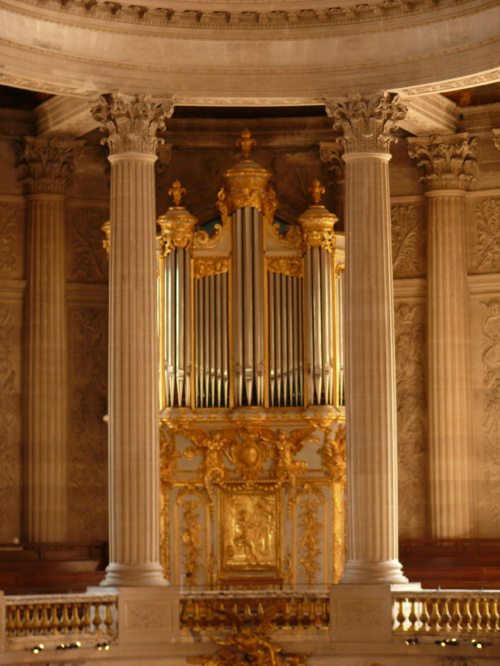 Wersal - Kaplica Królewska #Paryż