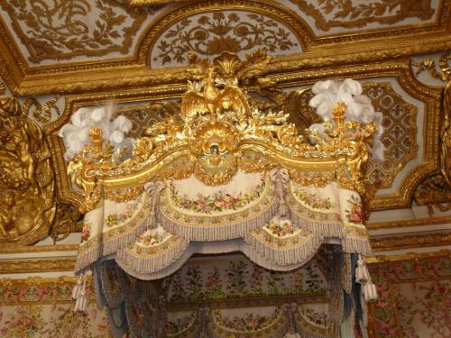 Pałac Wersalski - The Queen's Chambery #Paryż