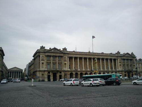 Rue Royal i widok na La Madelaine #Paryż