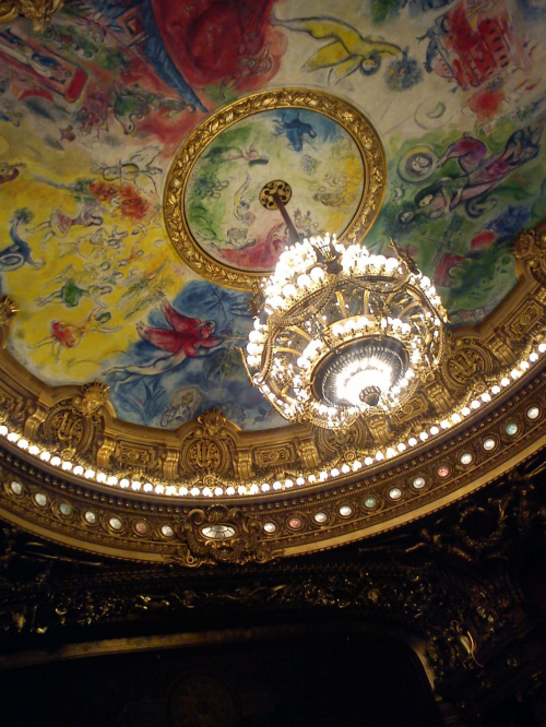 Opera National de Paris Garnier #Paryż