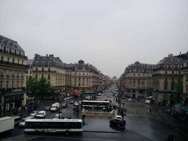 Place de l'Opera i Avenue de l'Opera #Paryż