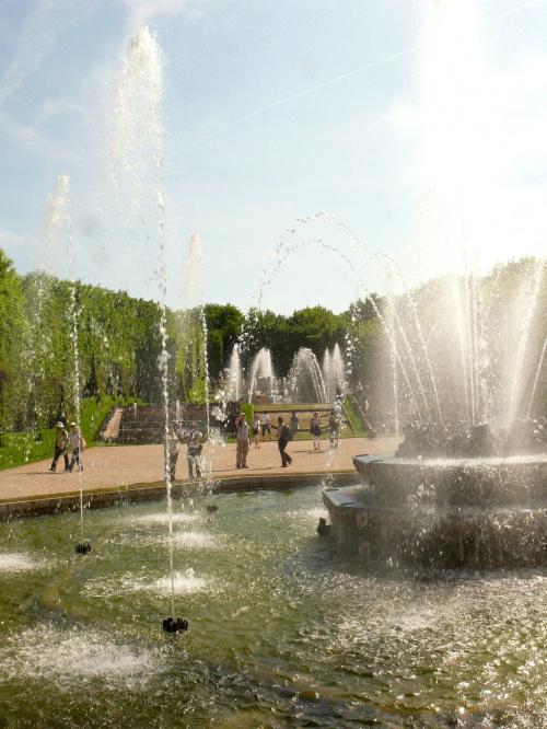 The Grove of the Three Fountains #Paryż