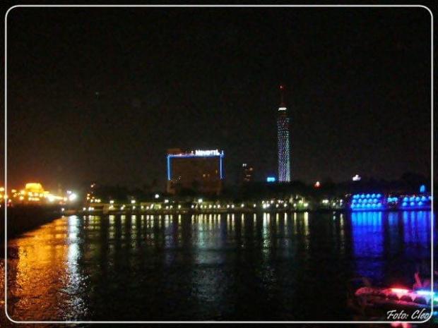 Wieza w centrum Cairo.