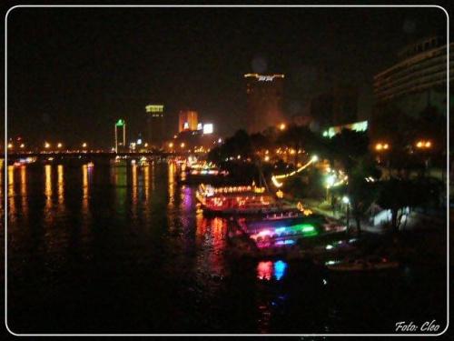 W Nilu odbija sie tysiace swiatel czyniac go niesamowicie pieknym...