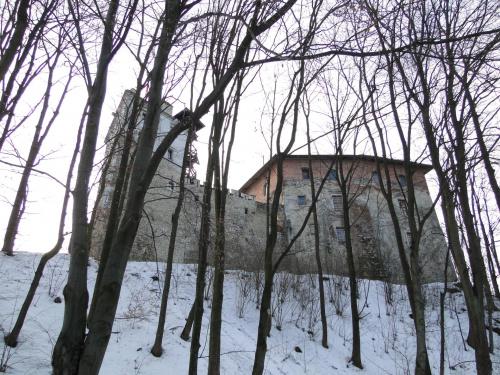 Zamek w Korzkwi w sumie to niedaleko mnie, w mojej gminie :)