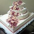 26 kg torcik na wesele #TortWeselny #PrzyjęcieWeselne #tort #torty