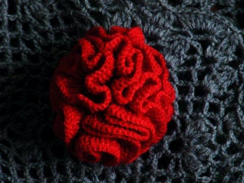 #handmade #KwiatekSzydełkowy #szydełko #robótka