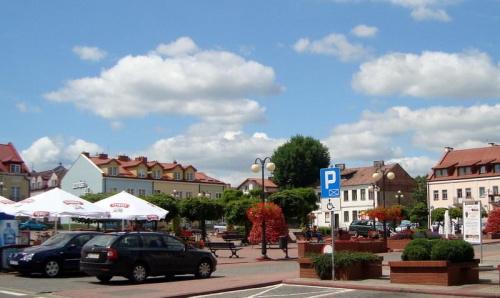 Rynek w Serocku.