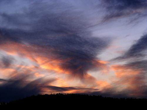 poranne niebo..tuz przed wschodem.. #wschód #niebo
